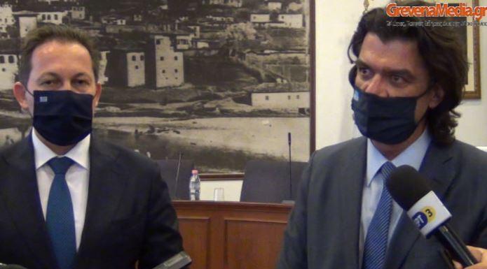 Απολογισμός επίσκεψης του Αναπληρωτή Υπουργού Στέλιου Πέτσα και του Βουλευτή Ανδρέα Πάτση στον Νομό Γρεβενών