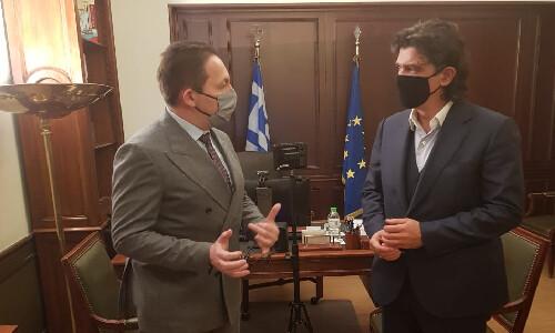 Επίσκεψη του Αναπληρωτή Υπουργού Στέλιου Πέτσα και του Βουλευτή Ανδρέα Πάτση στον Νομό Γρεβενών
