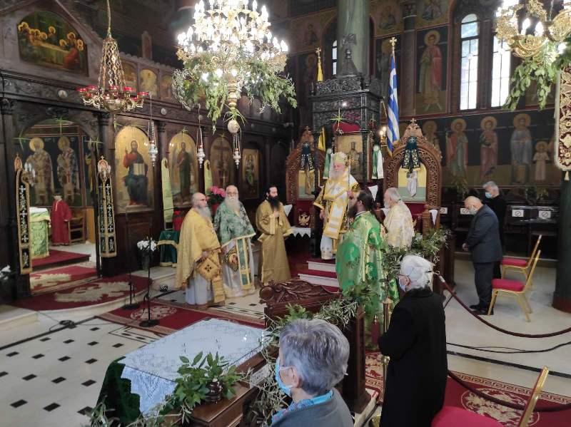 Κυριακή των Βαΐων στην Ευαγγελίστρια Γρεβενών