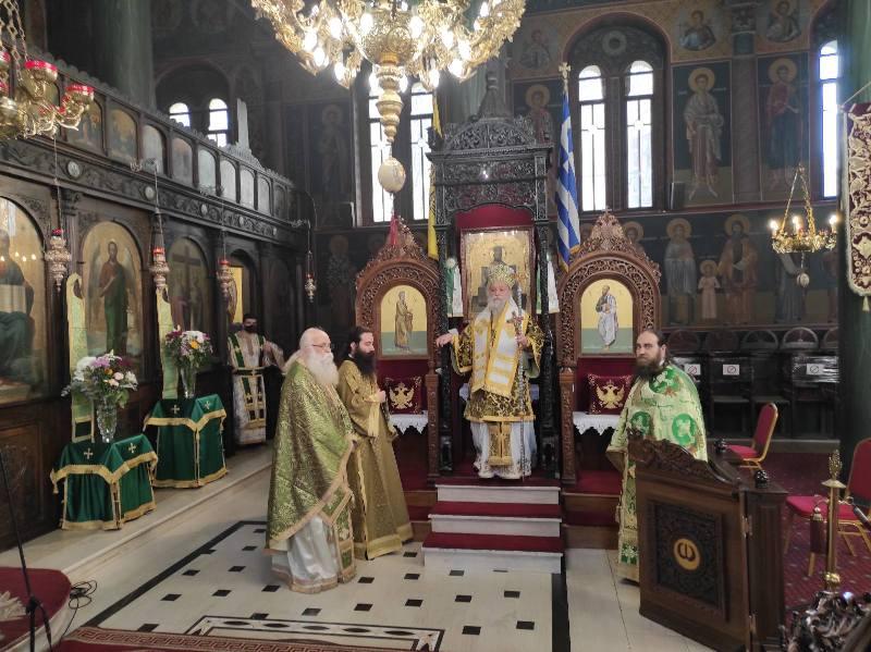 Κυριακή της Σταυροπροσκυνήσεως στην Ιερά Μητρόπολη Γρεβενών