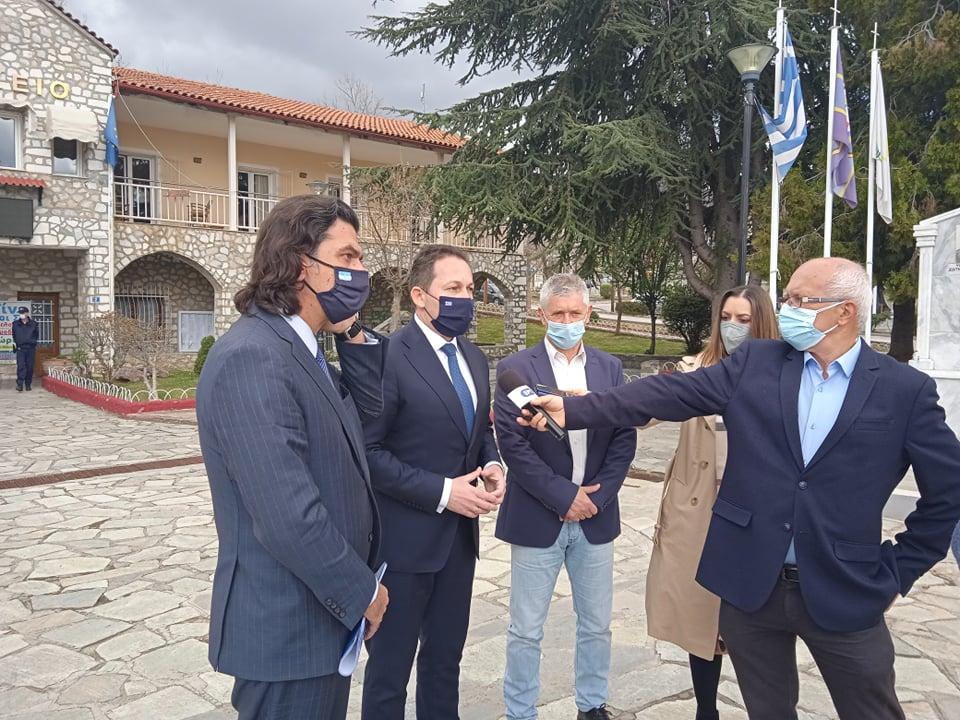 Επίσκεψη του Υπουργού κ. Στέλιου Πέτσα στο Δήμο Δεσκάτης