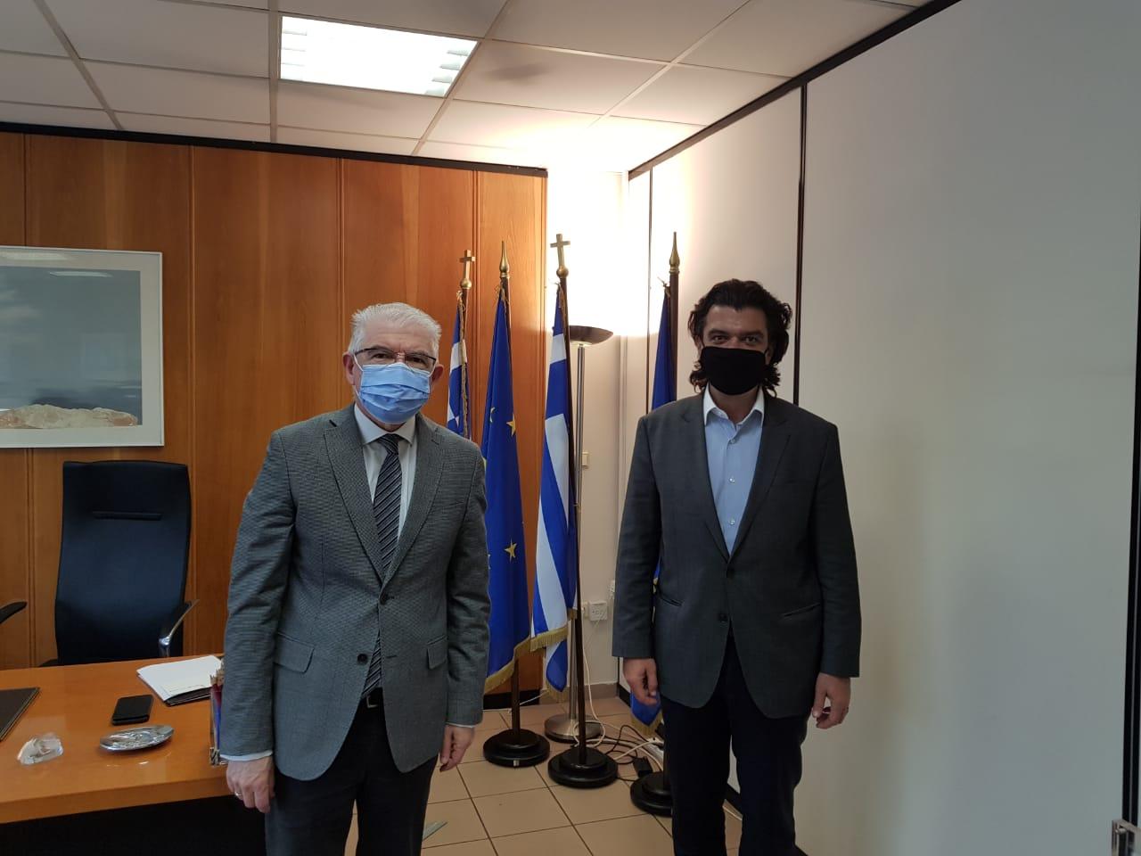 Συνάντηση του Βουλευτή Ανδρέα Πάτση, με τον Πρόεδρο ΕΛΓΑ κ.Ανδρέα Λυκουρέντζο