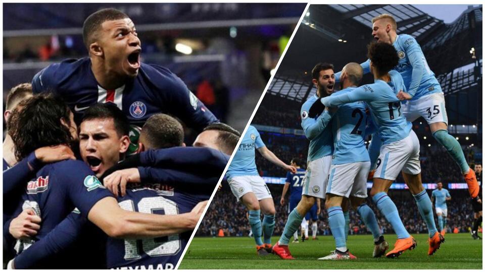 Ημιτελικά Champions League: PSG – Man.City στις 22:00. Ισχυρό outsider οι γηπεδούχοι