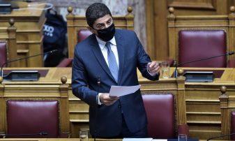 Η ομιλία του Υφυπουργού Αθλητισμού κ. Λευτέρη Αυγενάκη (Φωτογραφίες)