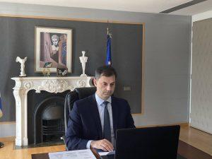Το σχέδιο επανεκκίνησης του τουρισμού που παρουσίασε ο Υπουργός κ. Χάρης Θεοχάρης υιοθέτησε η Παγκόσμια Επιτροπή Διαχείρισης Κρίσεων του Παγκόσμιου Οργανισμού Τουρισμού