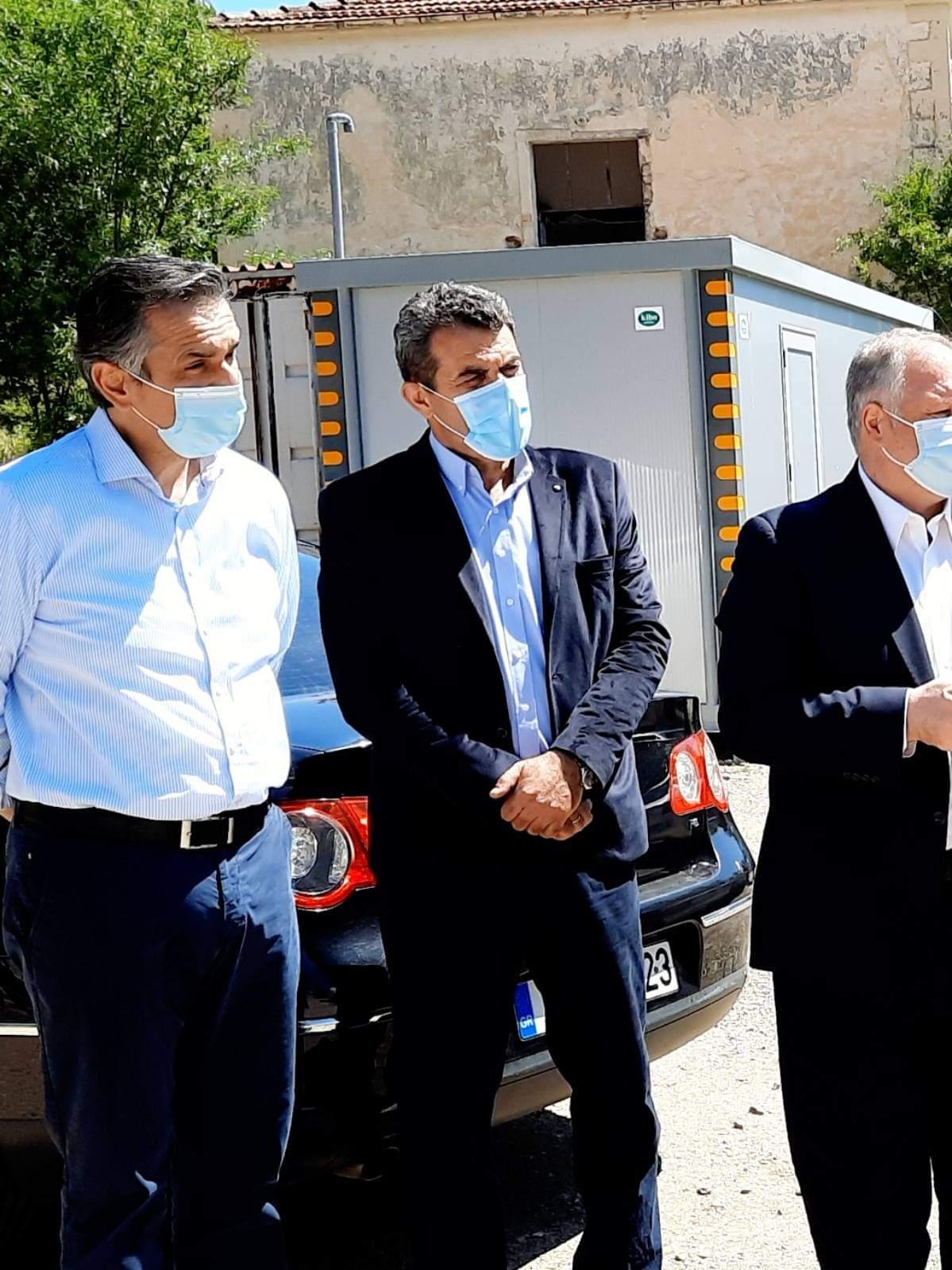 Τα υπό κατασκευή Αστυνομικά Μέγαρα Καστοριάς και Γρεβενών επισκέφθηκε ο Γ.Γ. του Υπουργείου Προστασίας του Πολίτη Κωνσταντίνος Τσουβάλα (Φωτογραφίες)