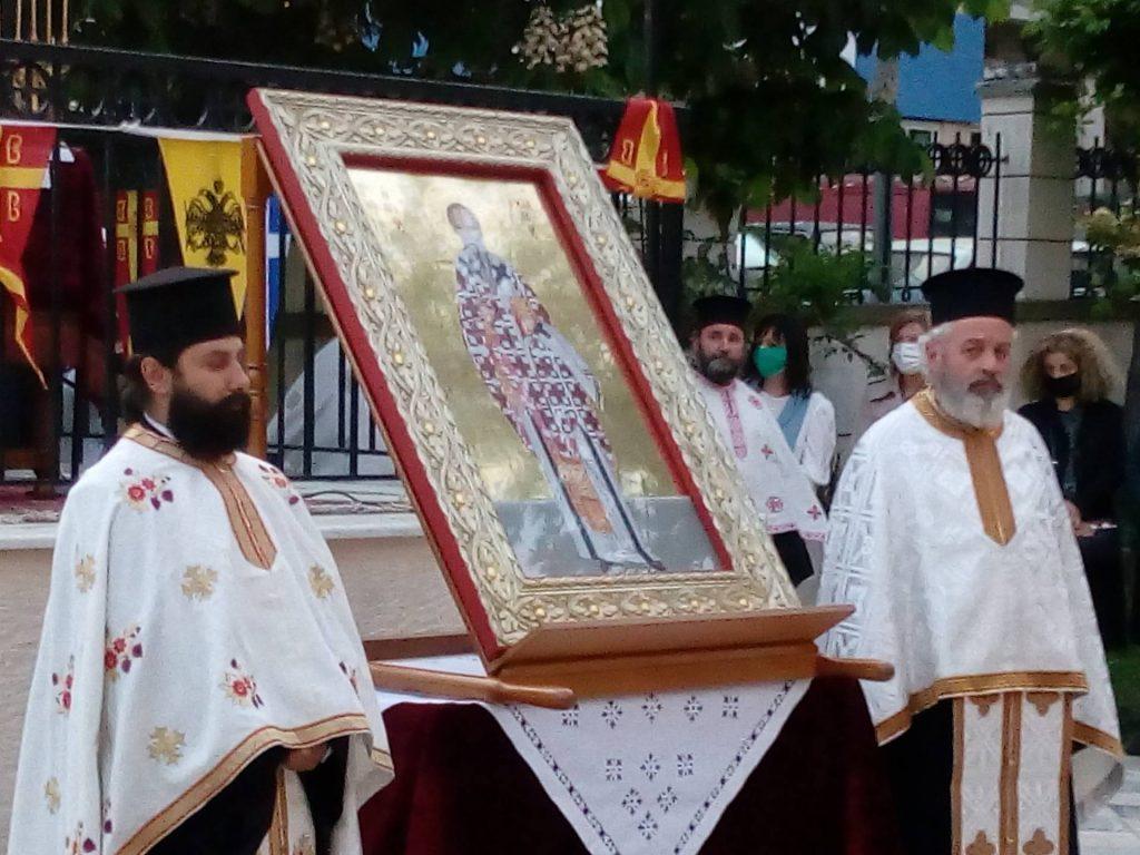 Εορτασμός του Αγίου Αχιλλείου στα Γρεβενά – Λιτάνευση της Ιερής Εικόνας του Αγίου Αχιλλίου (Βίντεο – Φωτογραφίες)