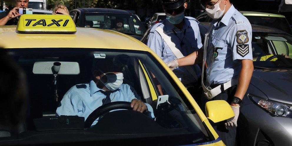 Ταξί-κορωνοϊός: Αλλάζει το όριο των επιβατών -Πόσοι επιτρέπονται