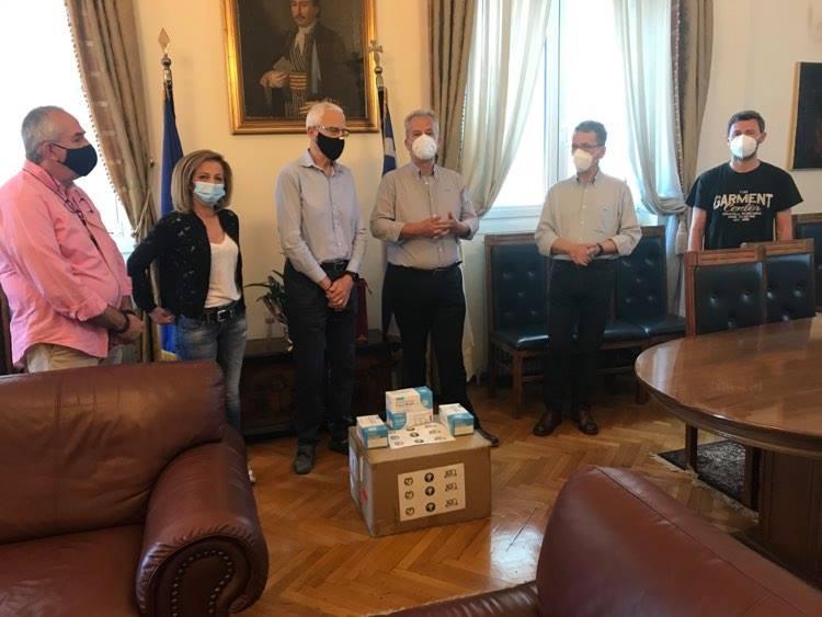AHEPA Κοζάνης: Δωρεά 2.000 μασκών στο Δήμο Κοζάνης