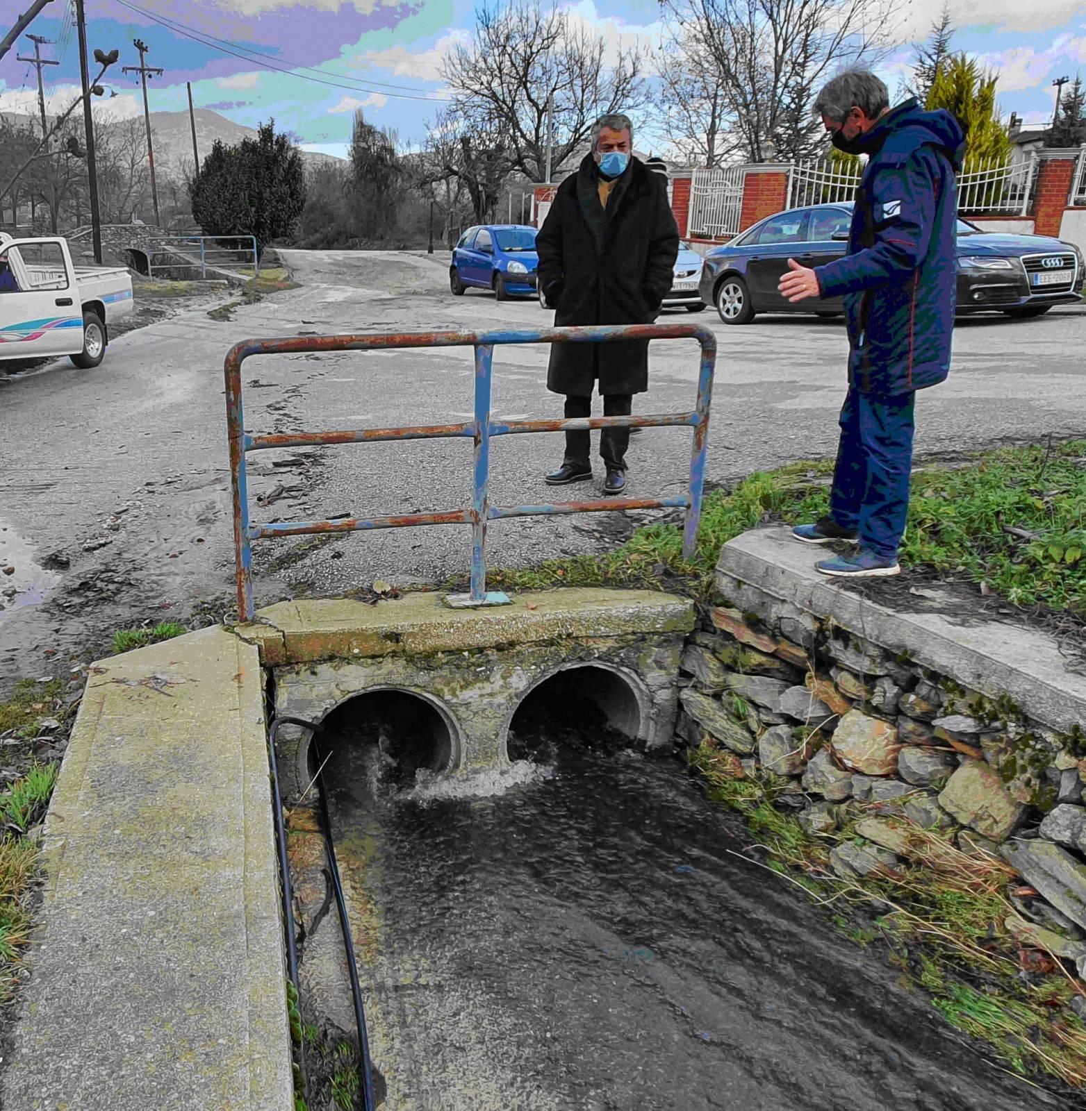 Π.Ε. Κοζάνης: 3 Αντιπλημμυρικά Τεχνικά Έργα στο Καστανόδασος Εμπορίου