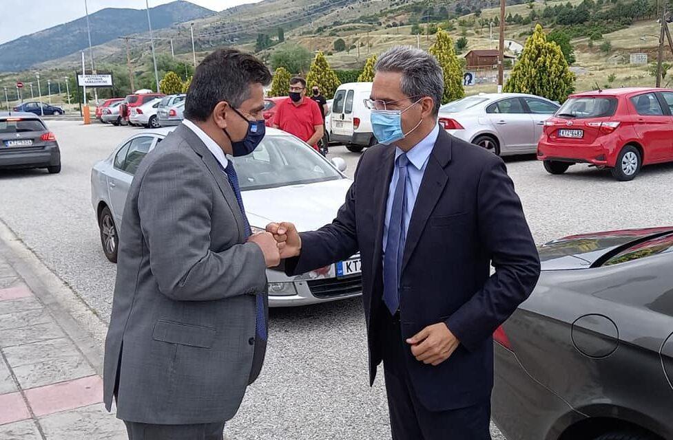 Ζ. Τζηκαλάγιας: Με ρεαλιστικές θέσεις ο Υφυπουργός Παιδείας Άγγελος Συρίγος στην Καστοριά