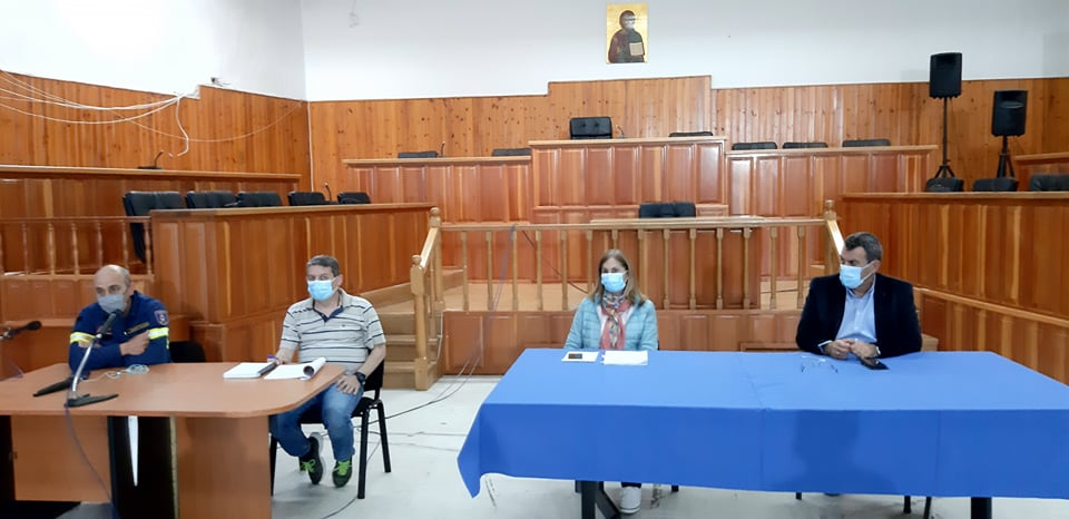 Συνάντηση με τις εθελοντικές οργανώσεις στην Π.Ε. Καστοριάς ενόψει της αντιπυρικής περιόδου