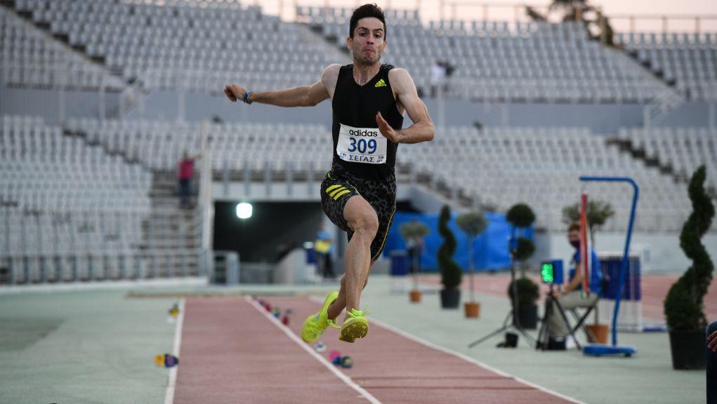 Πανελλήνιο πρωτάθλημα: Πρώτος ο Μίλτος Τεντόγλου με 8.48μ στο μήκος