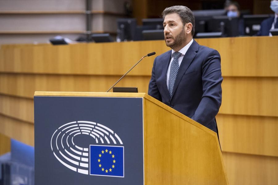 Νίκος Ανδρουλάκης προς Μπορέλ: Να εφαρμοστεί η απόφαση του Ευρωπαϊκού Κοινοβουλίου για εμπάργκο όπλων στην Τουρκία