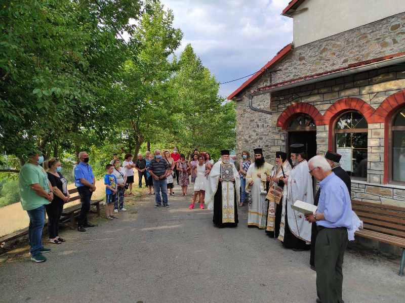 Εσπερινός Αγίας Κυριακής στο Σιταρά Γρεβενών