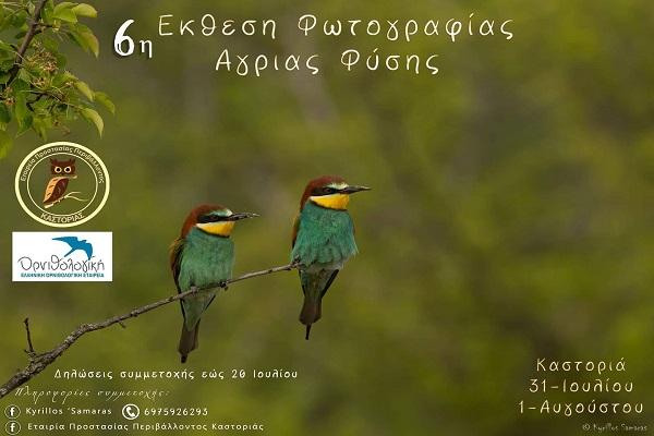 6η έκθεση φωτογραφίας άγριας φύσης στην Καστοριά