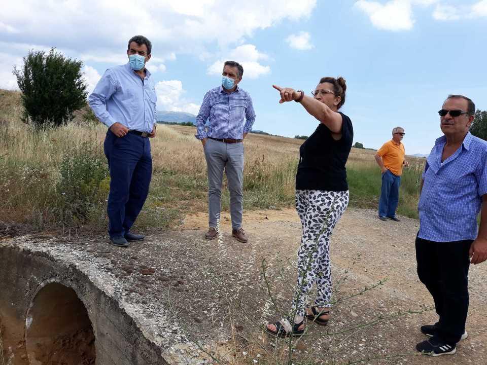 Τεχνικά Έργα 3.912.400 ευρώ που υλοποιούνται στην Π.Ε. Καστοριάς, επισκέφτηκεο Περιφερειάρχης Δυτικής Μακεδονίας Γιώργος Κασαπίδης