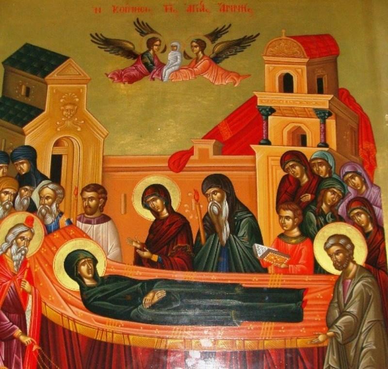 25 Ιουλίου – Κοίμηση της Αγίας Άννας
