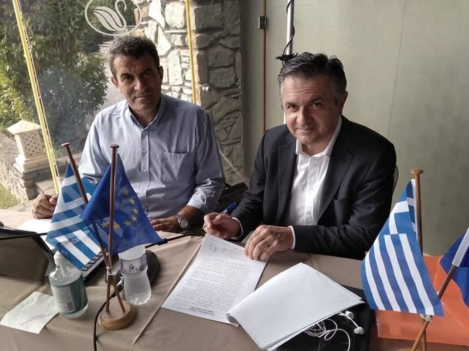Γ. Κασαπίδης: Υπογράφτηκε η Προγραμματική Σύμβαση για τηνΣτήριξη της Επιχειρηματικότηταςτης Π.Ε. Καστοριάς