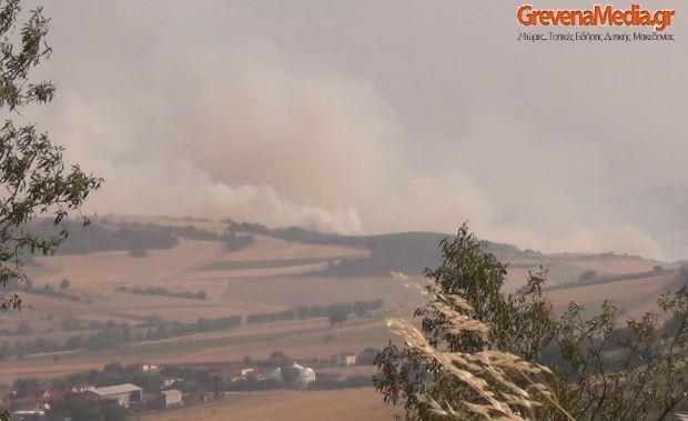 Γρεβενά: Μεγάλη δασική πυρκαγιά κοντά στους οικισμούς Αγαλαίοι, Δίπορο, Κέντρο και Νησί (Βίντεο – Φωτογραφίες)