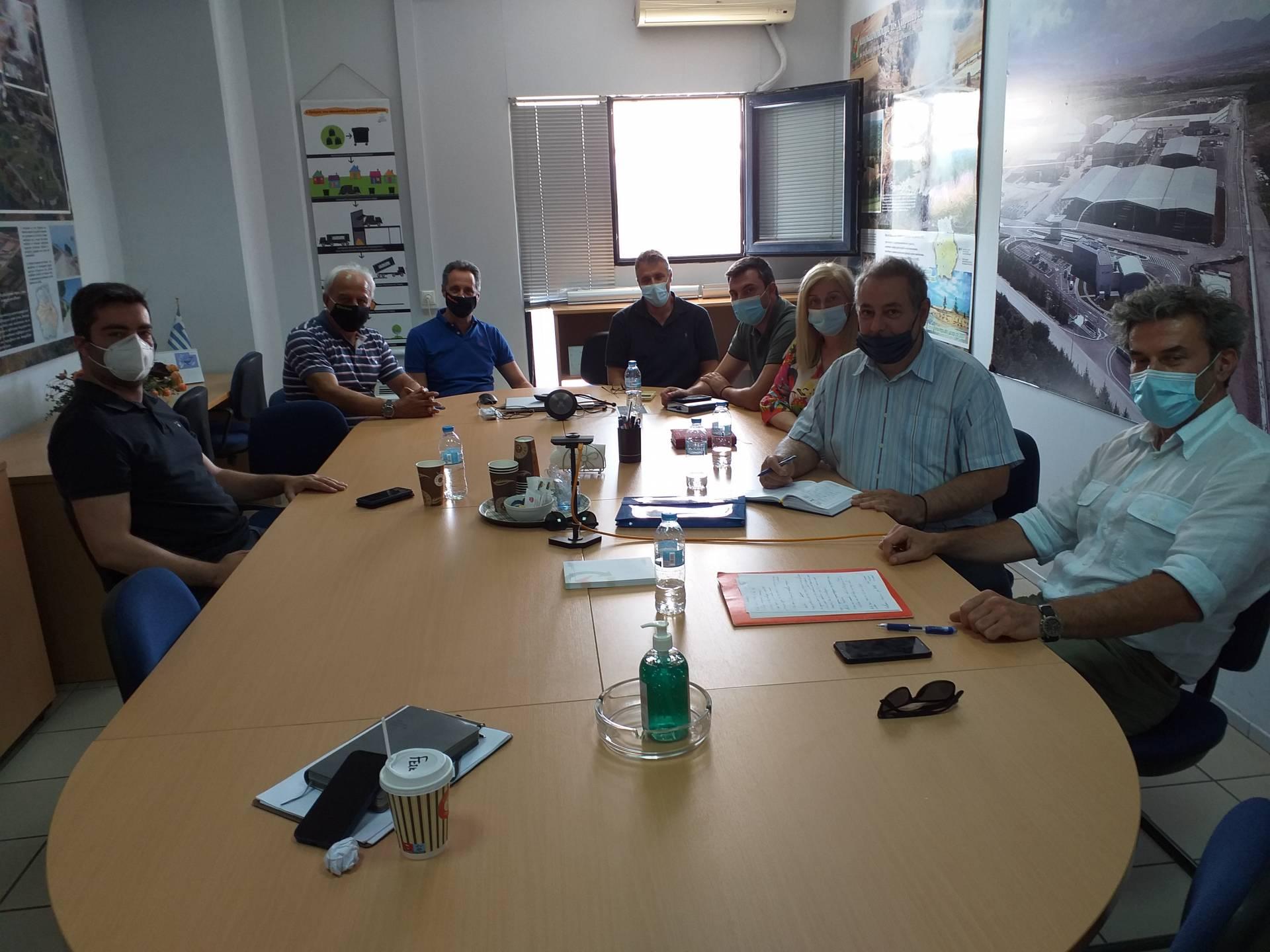 Συνάντηση Κλιμακίου ΤΕΕ/ΤΔΜ με Υπηρεσιακά Στελέχη της ΔΙΑΔΥΜΑ ΑΕ