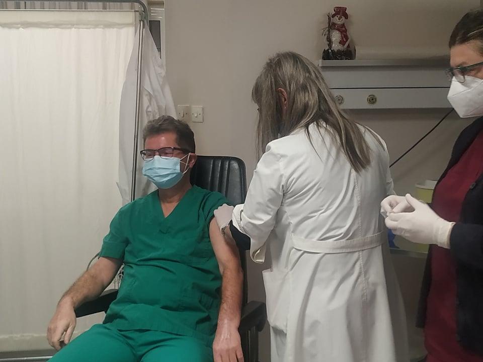 Γεωργαντάς: Σήμερα σπάει το φράγμα των 6 εκατ. εμβολιασμών -220.000 νέα ραντεβού, εκ των οποίων 8.150 υγειονομικοί