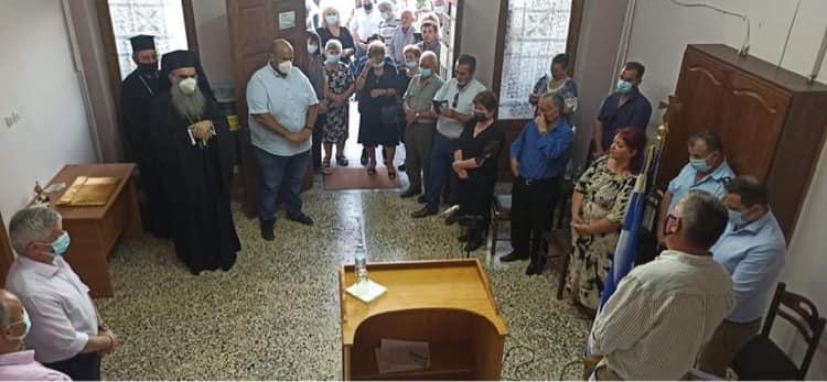 Τελετή ονοματοδοσίας της αίθουσας του Δημοτικού Συμβουλίου Δήμου Δεσκάτης