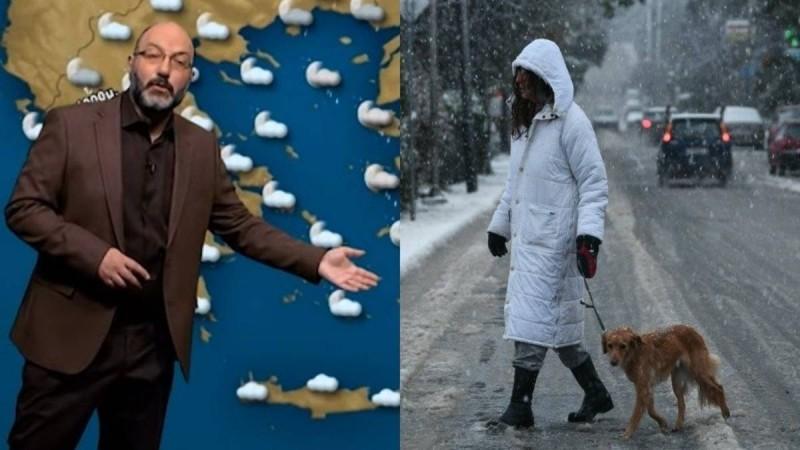 Σάκης Αρναούτογλου: Μια «πρώτη, πολύ γενική εκτίμηση» για τον χειμώνα που έρχεται και τις χιονοπτώσεις