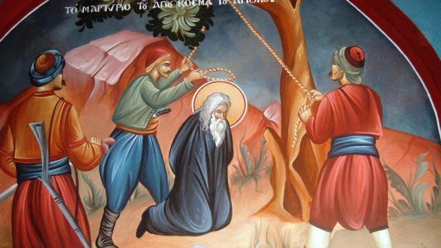 Άγιος Κοσμάς ο Αιτωλός-Ο χτίστης της Ρωμιοσύνης