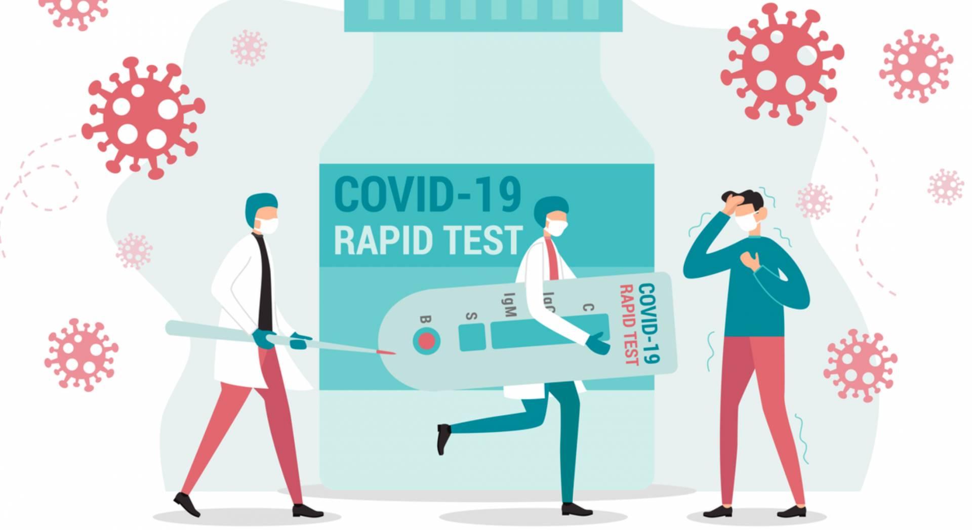 Το σχέδιο για τους ανεμβολίαστους: Στην εργασία με μοριακό ή rapid test- Οι σκέψεις για το λιανεμπόριο