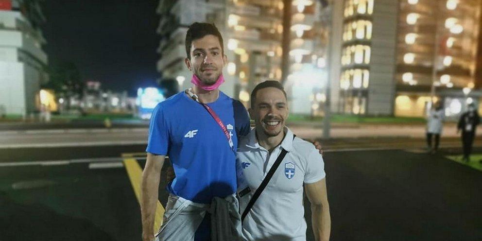 Συγκίνηση στο Ολυμπιακό Χωριό: Η αγκαλιά Τεντόγλου- Πετρούνια, η αποθέωση