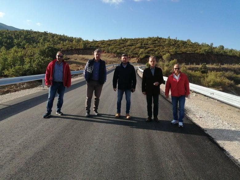 Παραδίδεται προς χρήση από το Δήμο Κοζάνης  ο δρόμος Χρωμίου – Ποντινής – Έργο του Δήμου Κοζάνης