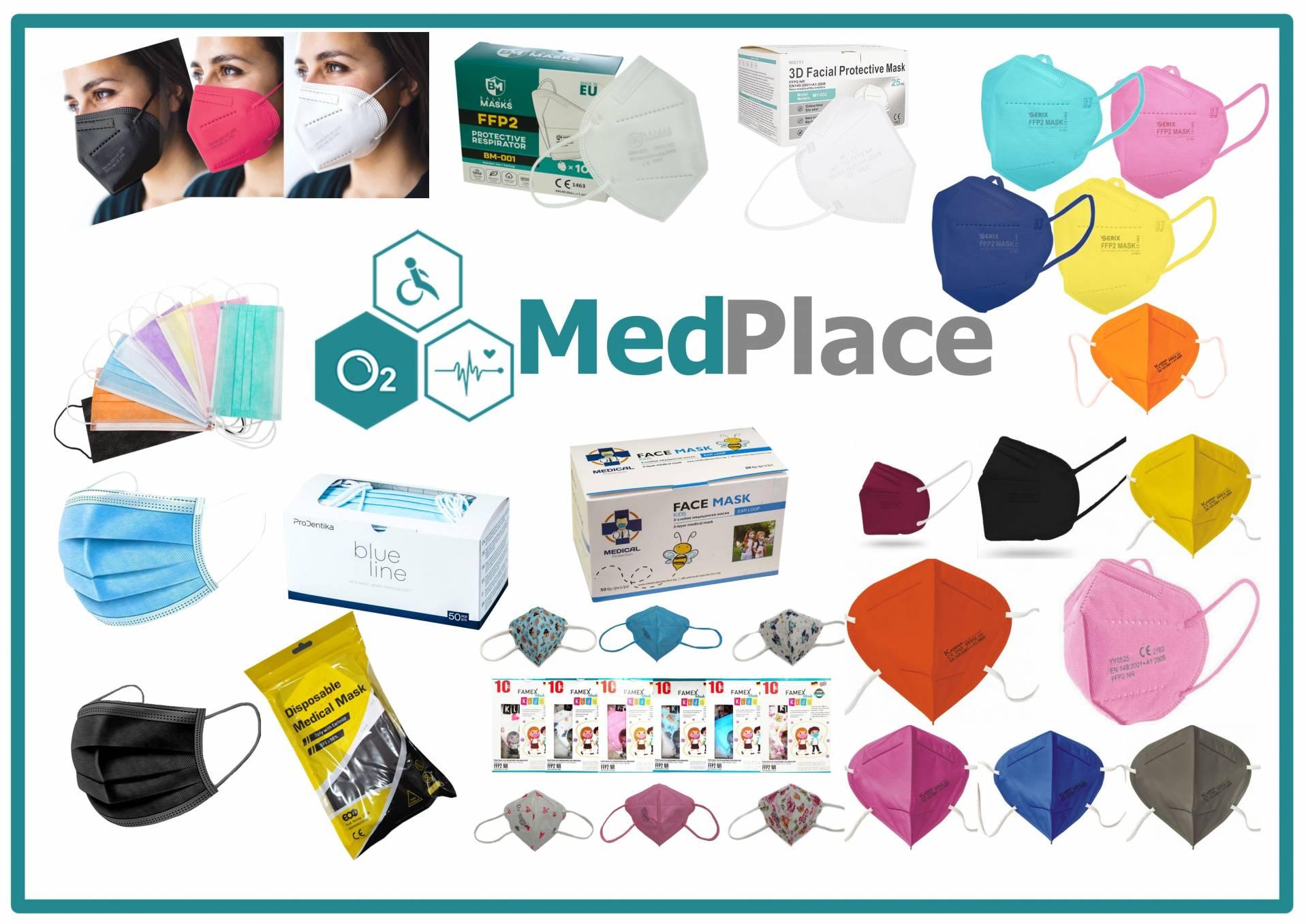 www.medplace.gr – Προσφορά μάσκες -20%