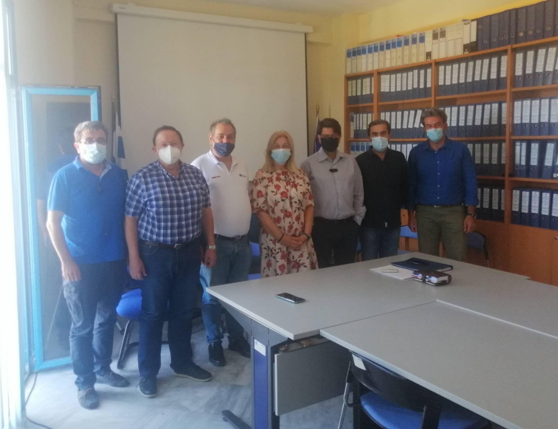 Ενημέρωση του Προεδρείου του ΤΕΕ/ΤΔΜ από στελέχη της Ειδικής Υπηρεσίας Διαχείρισης Επιχειρησιακού Προγράμματος Δυτικής Μακεδονίας για την πορεία υλοποίησης των έργων της Δυτικής Μακεδονίας