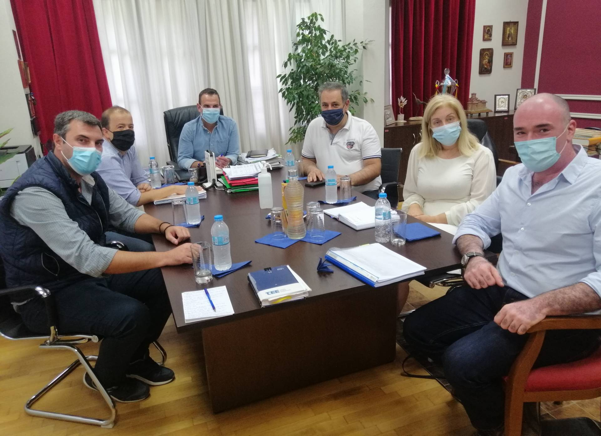 Συνάντηση εκπροσώπων της Διοίκησης του ΤΕΕ/ΤΔΜ με τον Δήμαρχο Καστοριάς