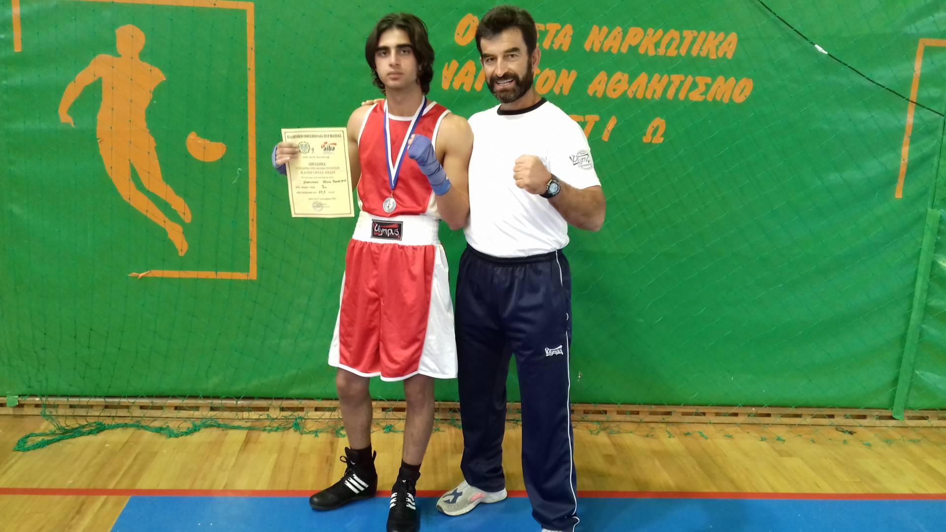 Ένας ακόμη αθλητής του Tsepidis Boxing Club κατέκτησε Πανελλήνιο μετάλλιο!