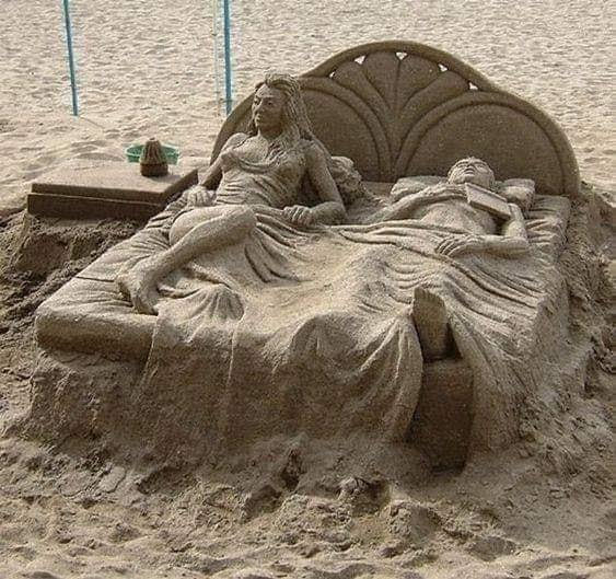 Υπέροχο Έργο Τέχνης φτιαγμένο με Άμμο…*Του Ευθύμη Πολύζου
