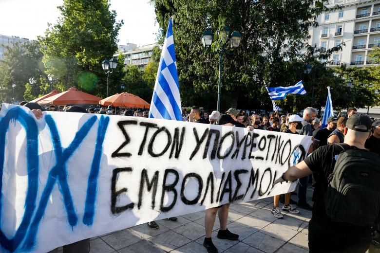 Welt: Η Ελλάδα πιο σκληρή χώρα με τους αντιεμβολιαστές