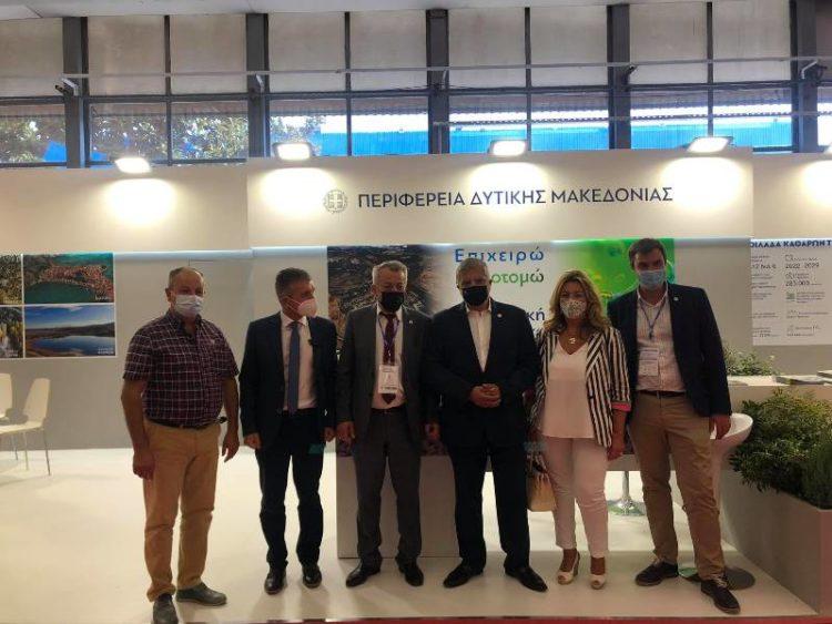 Με επιτυχία ολοκληρώθηκε η συμμετοχή της Περιφέρειας Δυτικής Μακεδονίας στην 85η Δ.Ε.Θ – Πόλος έλξης το περίπτερο
