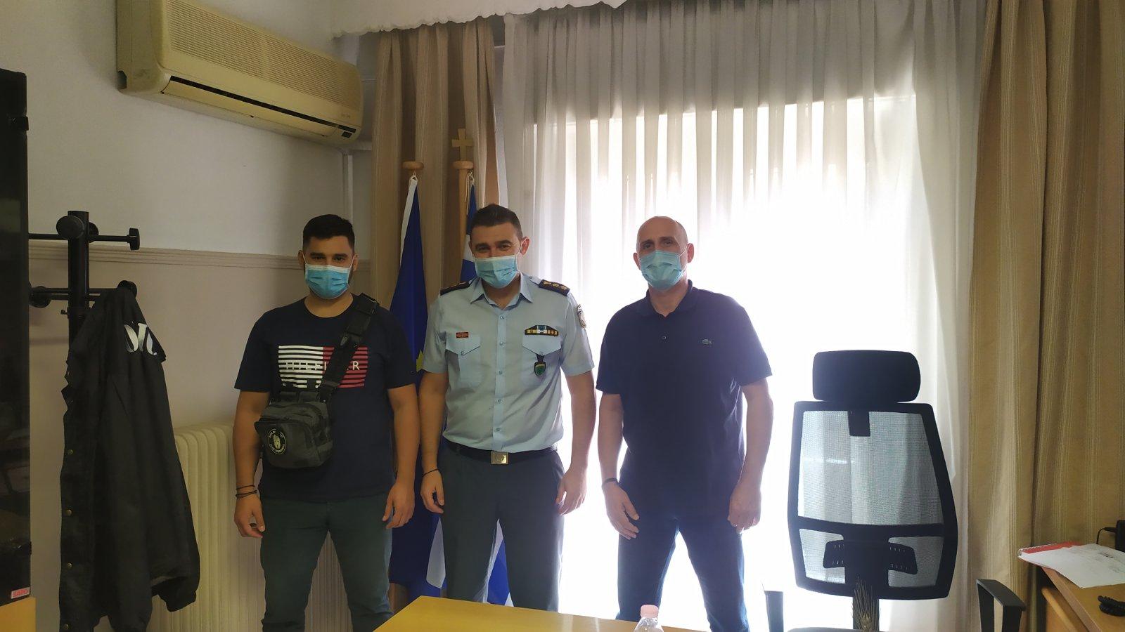 Επίσκεψη μελών του ΔΣ της Ένωσης Αξιωματικών Αστυνομίας Δυτικής Μακεδονίας στην Διεύθυνση Αστυνομίας Καστοριάς