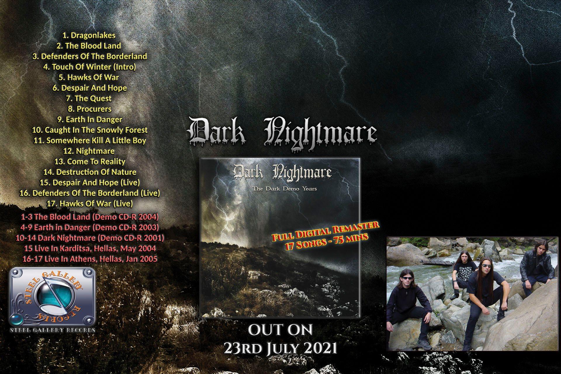 Οι 3εις τυχεροί που κερδίζουν από ένα CD των Dark Nightmare