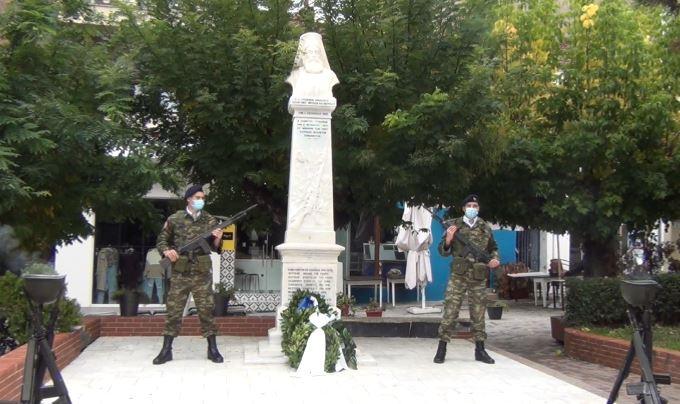 Γρεβενά: Επέτειος του Μακεδονικού Αγώνα και κατάθεση στεφάνων (Βίντεο – Φωτογραφίες)