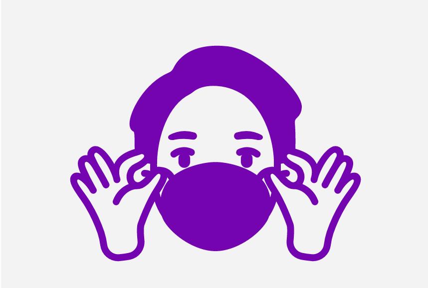 Έρχονται οι «μωβ» περιοχές με υποχρεωτική χρήση μάσκας παντού- Τι θα ισχύει