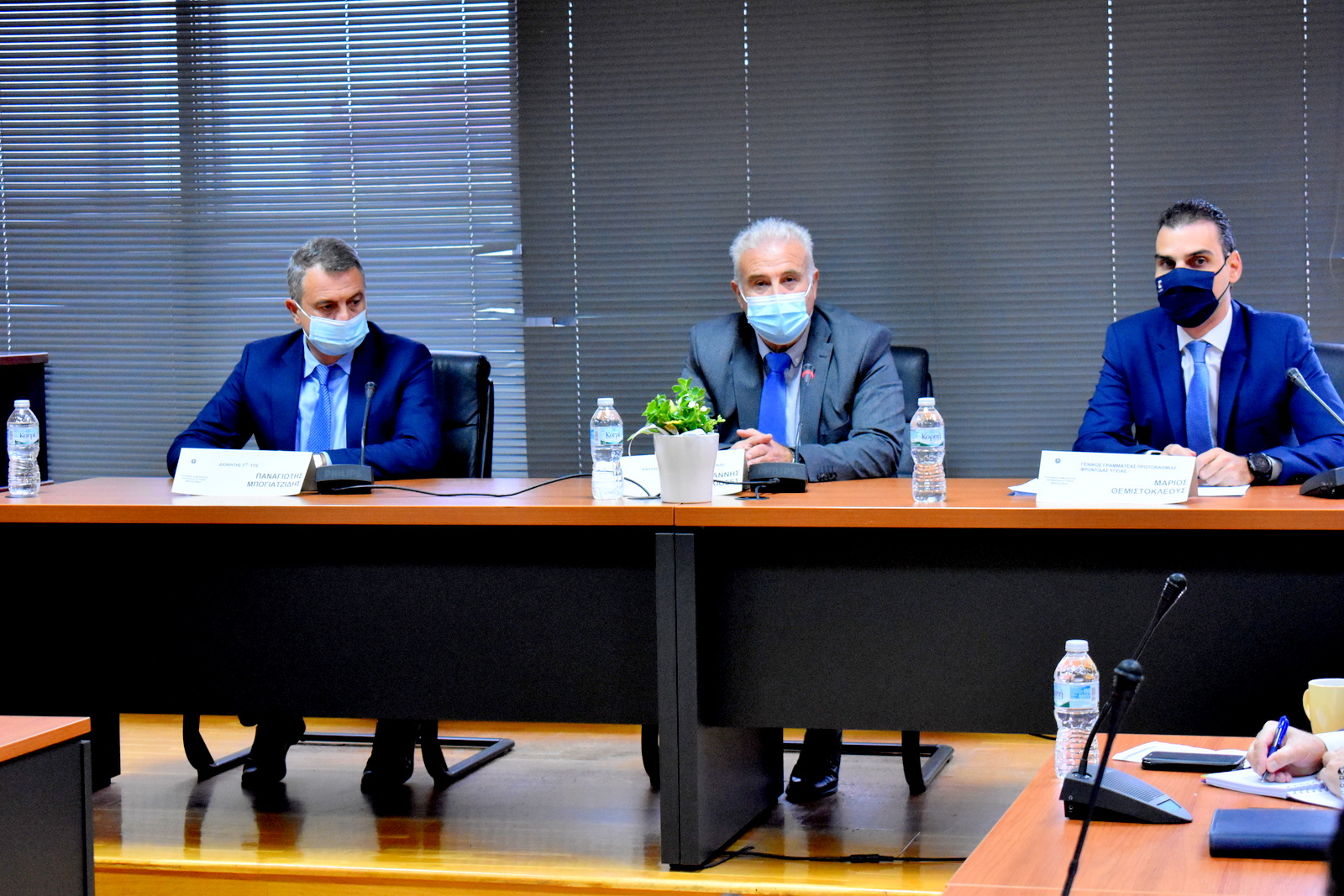 Στην Π.Ε. Φλώρινας ο Γενικός Γραμματέας Πρωτοβάθμιας Φροντίδας Υγείας και ο Διοικητής της 3ης Υγειονομικής Περιφέρειας Μακεδονίας