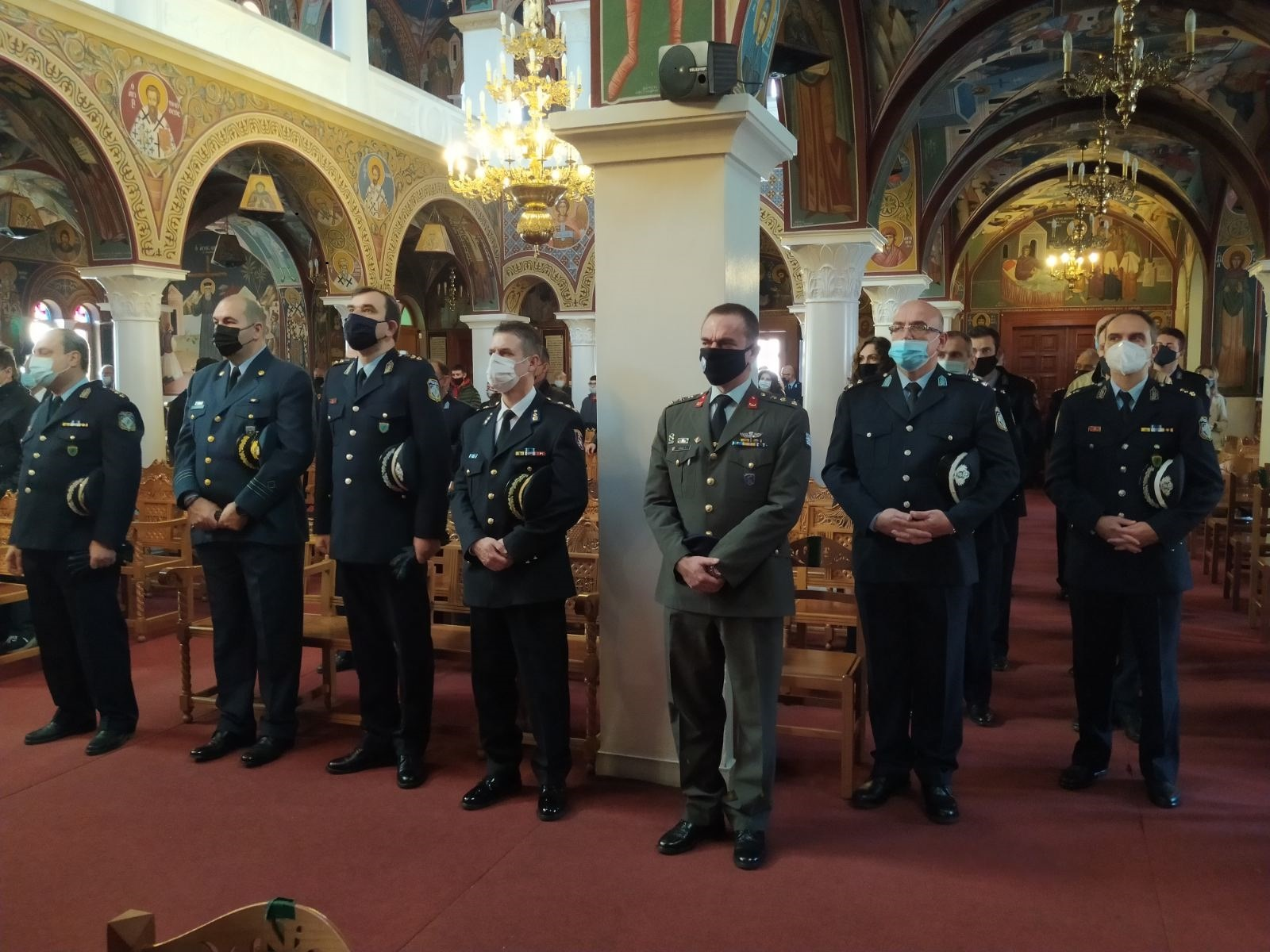 Εορτασμός του Προστάτη του Σώματος,Μεγαλομάρτυρα Αγίου Αρτεμίου και της «Ημέρας της Αστυνομίας»- Εορταστικές εκδηλώσεις σε Γρεβενά, Καστοριά, Κοζάνη, Φλώρινα