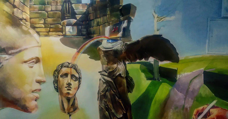Έτοιμο το Πρώτο Έργο Τέχνης… του Λάζαρου Γρίδα…στο 2ο ΓΕΛ Γρεβενών